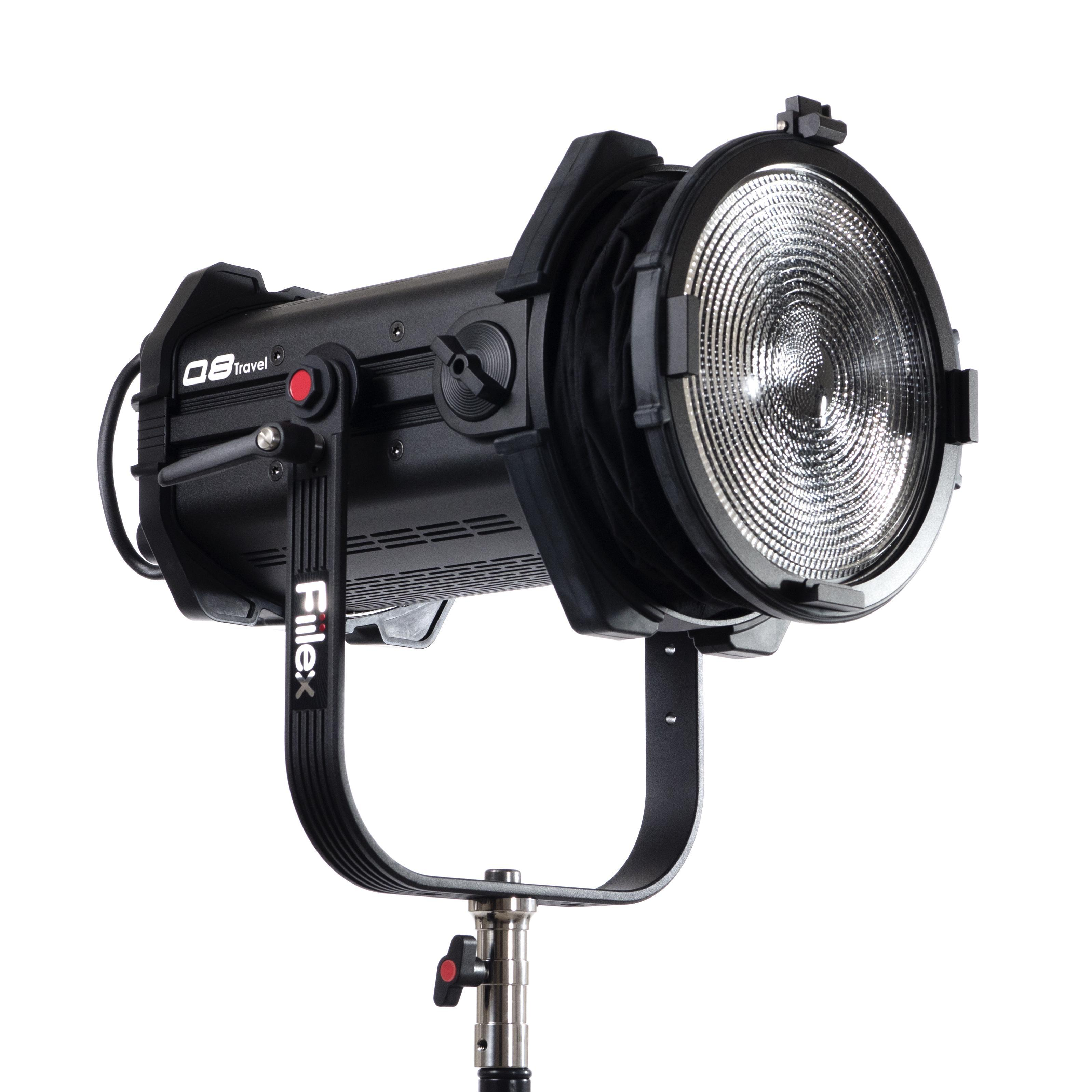 LED FRESNEL FIILEX Q8 TRAVEL